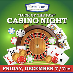 Luck of the Paw Casino Night